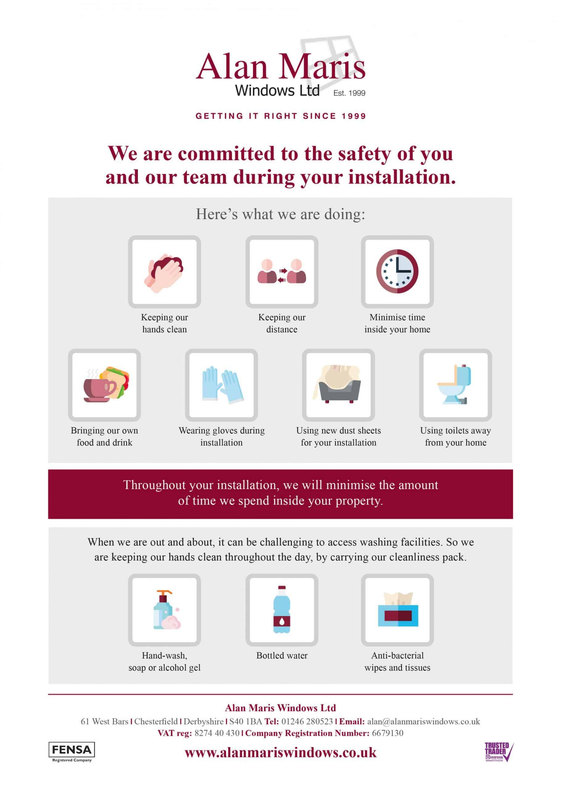 Alan Maris Windows (COVID-19 Customer Notice)